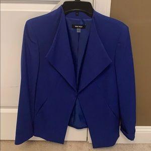 Blue Nine West Blazer
